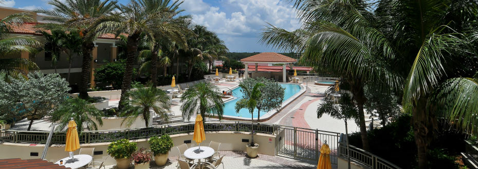 Resort-style Pool area